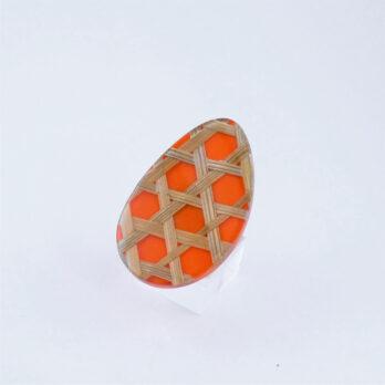 Bague Osier Orange